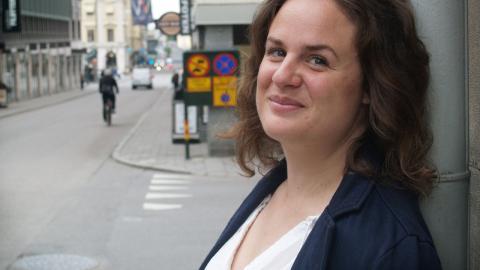 """I höst hoppas Ivana Vukadinovic hinna läsa mer skönlitteratur för att """"samla på sig ord"""".  Bild: Eva Bergstedt"""
