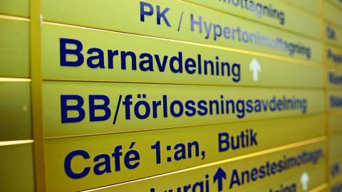 Vänsterpartiets gruppledare i landstinget, Lars-Gunnar Hultin, vill se tre akutsjukhus i länet. Bild: Izabelle Nordfjell/TT