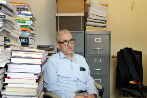 Robert Shapiro, professor i amerikansk politik vid Columbia University. Bild: Anja Löfman och Alexandra Andersson