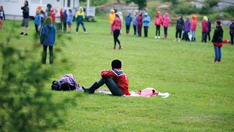 aFör många unga med funktionsnedsättning    kan ett sommarläger, eller att få utöva en idrott, vara årets höjdpunkt, men ofta räcker inte pengarna till.  Bild: Terje Pedersen