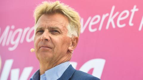 Anders Danielsson, tidigare generaldirektör för Migrationsverket.  Bild: Janerik Henriksson/TT