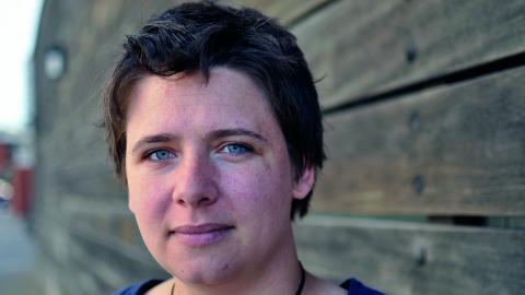 Det mesta som jag har pysslat med har handlat om att     rädda världen, säger Marléne Tamlin, som går vidare mot nya utmaningar.  Bild: Joni Nykänen