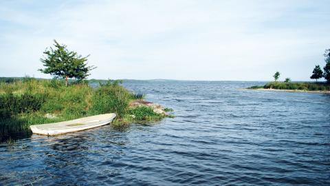 Vombsjön förser oss med cirka 40 miljoner kubikmeter dricksvatten per år.
