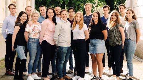 En betydligt större Jönköpings-delegation än vanligt tar plats på SSU:s kongress. Efter att på ett par år ha ökat från 200 till 600                  medlemmar är SSU i Jönköpings län numera det femte största distriktet i landet.  Bild: Press