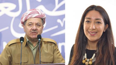 Liberala företrädare anser att det är hög tid för Irak och Kurdistan att gå skilda vägar – medan andra argumenterar för att folkomröstningen är ett utnyttjande av krisen till förmån för president Barzani. Bild: Hadi Mizban/AP