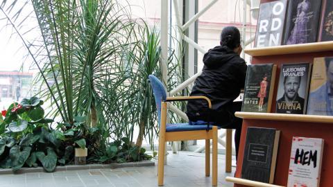 ETC träffar Joy på Kulturmagasinet. Bild: Fredrik Nilsson