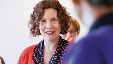 Maria Carbin forskar vid Umeå centrum för genusstudier. Bild: Elin Berge