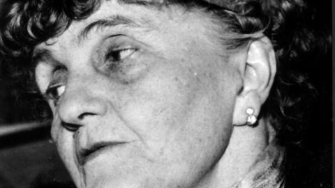 """Författaren Moa Martinssons liv blir  till film i Maj Wechselmanns drama- dokumentär """"Moa Martinsson – landsmodern"""".  Bild: TT"""