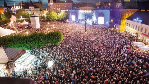 Flera personer har gripits för sexuella övergrepp under Malmöfestivalen och polisen har förhoppningar om att kunna gripa ännu fler. Bild: Johan Bävman