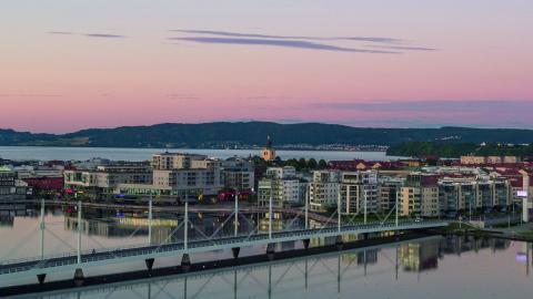 Festivalen H20 Jönköping är utspridd över hela staden.