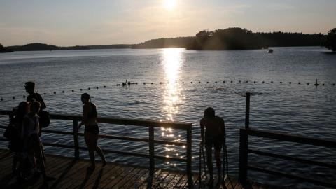 Vinterviken räknas till en av Stockholms mest förorenade platser. 900 kilo arsenik och 25000 kilo bly behöver saneras från området.  Bild: Helena Landstedt/TT