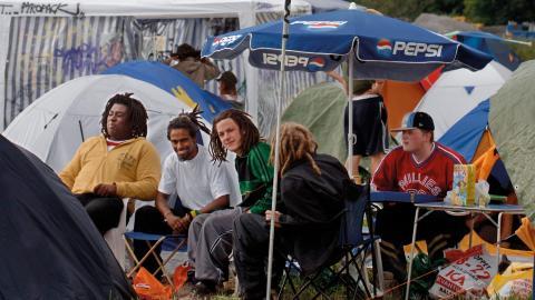 Arkivbild från Uppsala reggaefestival 2005. Efter fem års frånvaro återuppstår nu festivalen. Bild: Lars Pehrson/SvD/TT