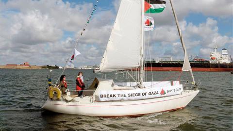 De har redan lyckats köpa den första båten.  Bild: Press