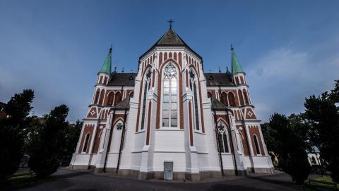 Över hälften av landets invånare, 6,1 miljoner människor, är medlemmar i Svenska Kyrkan.  Trots det röstade endast 12,8 procent av de röstberättigade i valet 2013.  Bild: Daniel Johansson