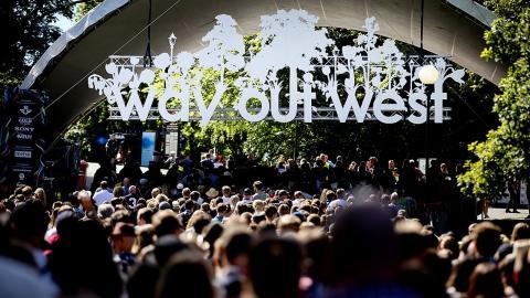 Entrén till Way Out West under festivalen 2015.  Bild: Adam Ihse/TT