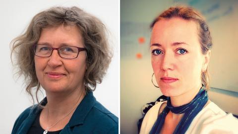 Anna Lindenfors och Alice Blondel