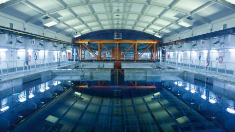 Nu ligger kärnavfallet i ett mellanförvar i Oskarshamn, Clab. Men om några år kan det flyttas till Forsmark. Bild: Curt-Robert Lindqvist