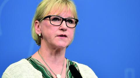 Margot Wallström. Bild: Marcus Ericsson/TT