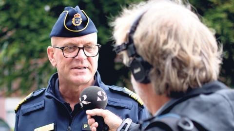 Polischefen Erik Nord.  Foto: Lucas De Vivo