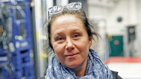 Frida Röhl. Regissör och konstnärlig ledare på Folkteatern. Foto: Christian Egefur
