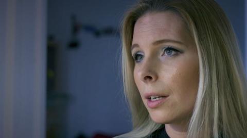 Hanna Wigh, före detta SD-politiker.  Bild: Kalla Fakta