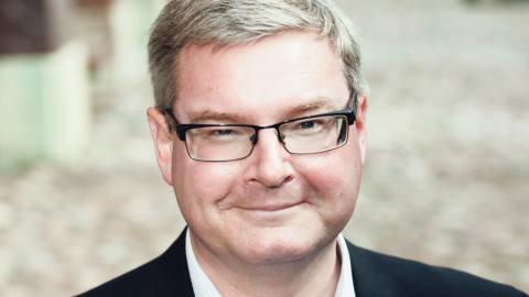 Jonas Ransgård tror inte att stämningen är så bra i den Rödgröna koalitionen. V och MP får bestämma för mycket, menar han. Foto: Maria Steén