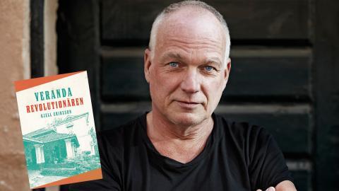 """Kjell Erikssons nya roman """"Verandarevolutionären"""" handlar om en avdankad journalist som dras in i en revolution på en karibisk ö. Bild: Idha Lindhag"""