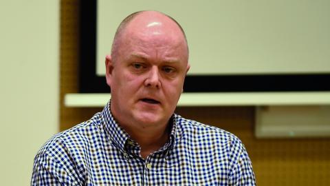 Leif Fransson, operativ chef för utredning och spaning inom gränspolisen i Region Syd.  Bild: Björn Lindgren/TT