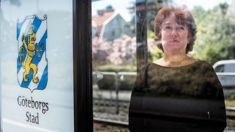 Maria Lejerstedt, stadsdelsdirektör i Västra Göteborg. Foto: Björn Larsson Rosvall /TT