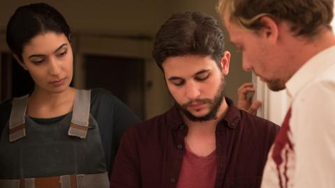 Efter en hemsk händelse började Nicola Camoglio skissa på en berättelse. Nu är berättelsen på väg att bli långfilm, inspelad både i Göteborg och på Sardinien. Foto: Raquel Linde