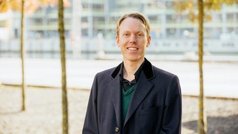 Alexander Ståhle, stadsbyggnadsforskare vid KTH, har funderat på bilens roll i städer. Bild: Arne Müller