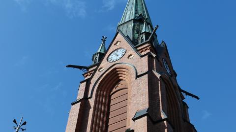 I Umeå finns 68000 röstberättigade i kyrkovalet. Förra året röstade drygt 14 procent, en toppnotering i ett val där få brukar ta sig till röstlokalerna. Men i år satsar SD på att locka sina sympatisörer till val.  Bild: Liselott Holm
