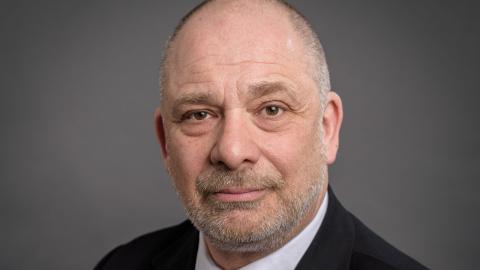 Allan Stutzinsky, ordförande i Judiska föreningen.  Bild: Press
