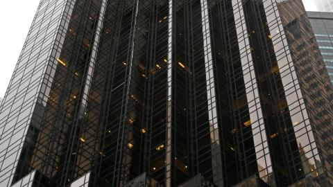 Trump Tower i New York. Foto: Kathy Willens/AP/TT