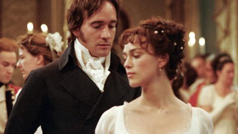 """Keira Knightley och Matthew Macfadyen i filmen """"Stolthet och fördom"""" från 2005. Bild: Press"""