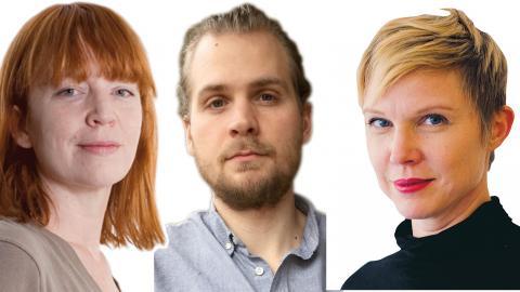 Anna-Maria Carnhede, Rasmus Landström, Jenny Aschenbrenner.