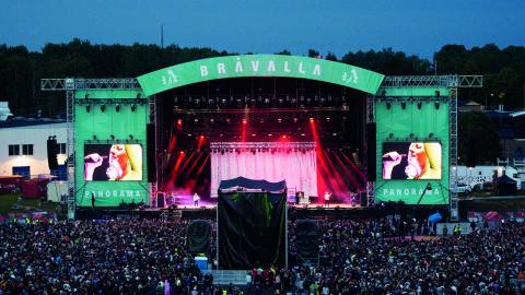 Bråvallafestivalen 2018 är inställd på grund av 28 polisanmälningar gällande sexuellt ofredande, våldtäkter och sexuellt tvång på årets festival.  Bild: Izabelle Nordfjel/TT