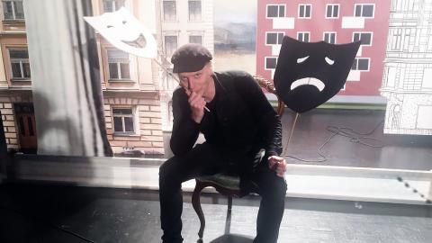 """Andreas Boonstra sätter upp Molières """"Tartuffe"""" på Teater Moment."""