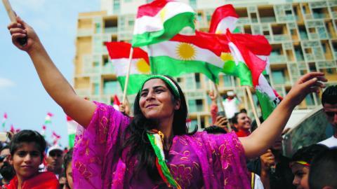 I en tid av ständig oro och instabilitet i regionen behövs demokratiska processer likt den kurdiska folkomröstningen i norra Irak, skriver debattörerna. Bild: Hassan Ammar/AP/TT