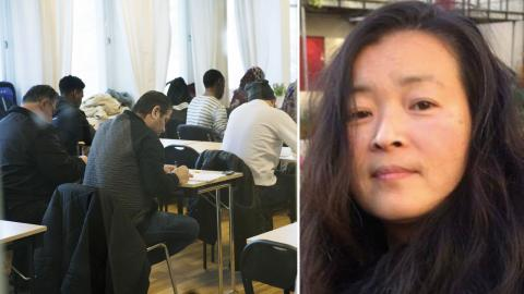 Maria Fredriksson, SFI-lärare. Bild: TT/privat