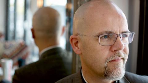 Erik Johansson är en av kandidaterna till biskopsposten i Göteborg.  Foto: Lucas De Vivo