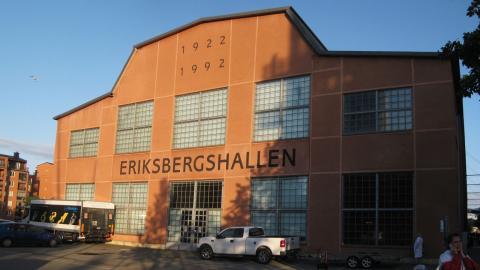 Toppmötet kommer att hållas i Eriksbergshallen. Det är också där polisen väntar sig åsiktsyttringar, men trafiken kommer att påverkas kring centrala Göteborg, Hisingen och Landvetter flygplats. Bild: Lucas De Vivo