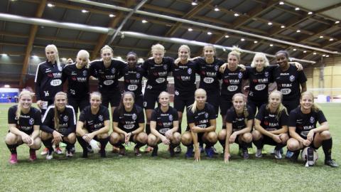 I oktober stod det klart att Växjö DFF avancerar till högsta serien.  Bild: Anna-Stina Stenbäck