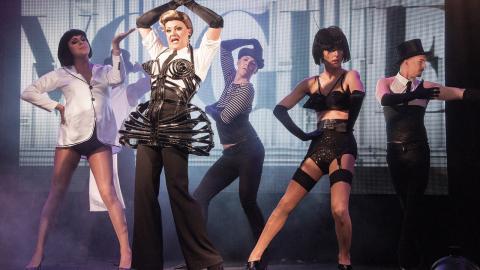Madonna är alltid ett säkert kort när Fashion Pack bjuder in till drag. Hon har varit med Thomas Johansson sedan första framträdandet på Karolinska skolan i slutet av 90-talet.  Bild: Kalle Jungme