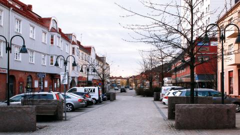 I Gamlestaden är fortfarande många lägenheter hyresrätter. Där finns både privata och allmännyttiga hyresvärdar. Foto: Christian Egefur