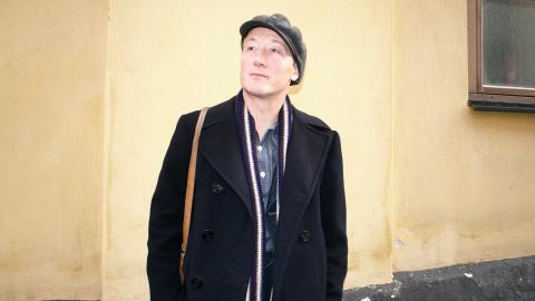 Matti Bye vill ständigt utmana traditionerna kring vad stumfilmsmusik ska vara, bland annat genom att använda andra instrument, ta in elektroniken.  Bild: Gustav Gelin
