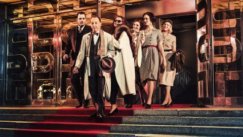 Karl Gerhard på Stadsteatern har premiär 3 november. Foto: Marco Grizelj