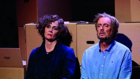 En infekterad skilsmässa spelas upp i operaform.   Bild: Christian Berling