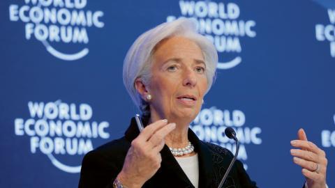 Christine Lagarde, chef för IMF.