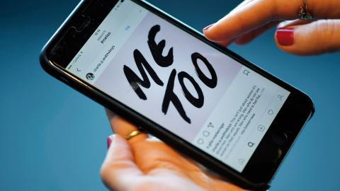 När Metoo öppnade upp för att kvinnor nu bryter tystnaden så kunde det för en gångs skull få handla om just deras jobbiga upplevelser helt oinskränkt. Så sluta posta under #ihave, menar debattören. Foto: Fredrik Sandberg / TT